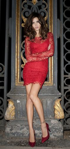 Mango - red dress - 2011