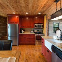 Lodge 130 is the newest addition to Zion Mountain Ranch's private lodges Zion Mountain Ranch, Side Wall, Lodges, Kitchen Cabinets, Interior, Explore, Projects, Home Decor, Log Projects