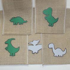Saco de Juta Dinossauros