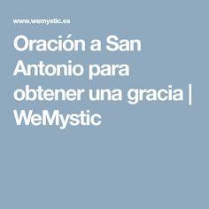 Oración a San Antonio para obtener una gracia | WeMystic