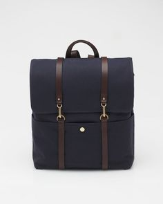 Backpack In Navy    Mismo