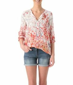 Floral shirt multicoloured - Promod