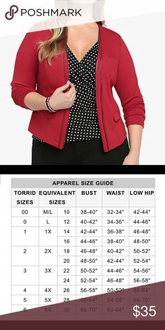 "NWT ""TORRID"" Crop Blazer Classy crop blazer. It's an asymmetrical open front blazer. it doesn't actually zip up. It's purely for styling. Faux flap pockets. In perfect condition. Thanks for looking and feel free to ask me any questions . Happy poshing 😊 torrid Jackets & Coats Blazers"