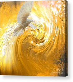 Prophetic Art Featured Images - Holy Spirit Come by Beverly Guilliams. Golden dove in swirls of golden glory. Catholic Art, Religious Art, Holy Spirit Come, Holy Spirit Images, Jesus Art, God Jesus, Jesus Bible, Saint Esprit, Bride Of Christ
