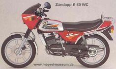 Zum Schluss die günstigste 80er von Zündapp.