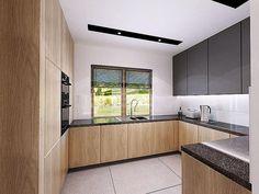Modern Kitchen Interiors, Luxury Kitchen Design, Kitchen Room Design, Home Interior Design, Kitchen Decor, Clever Kitchen Storage, Hidden Kitchen, Small U Shaped Kitchens, Cupboard Design