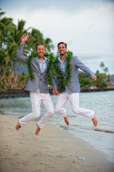 Jumping for Joy! On the beach in Maui (Of Course). http://www.joedalessandro.com
