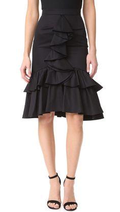 TOME Mermaid Skirt. #tome #cloth #dress #top #shirt #sweater #skirt #beachwear #activewear