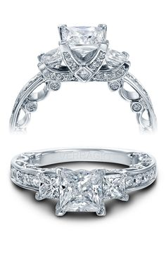 Paradiso Verragio engagement ring. ♥ #Verragio exclusively at #CapriJewelersArizona ~ www.caprijewelersaz.com  ♥