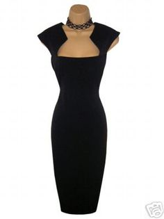 little black dress -- I still need one in my closet, and this would win if I could find it (maybe I can make it!)