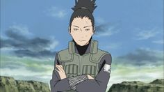 "Shikamaru. Reminds me of myself XD. ""How troublesome..."""
