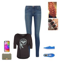 """""""Sans titre #1328"""" by harrystylesandliampayne on Polyvore featuring mode, J Brand, Roxy, Vans, Chanel et CellPowerCases"""