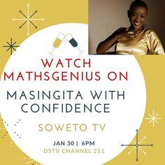 MathsGenius to feature on Soweto TV's Masingita with Confidence - STEAM QnA