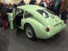 MGA special Coupe 1959, onderdelenbeurs Houten 2016
