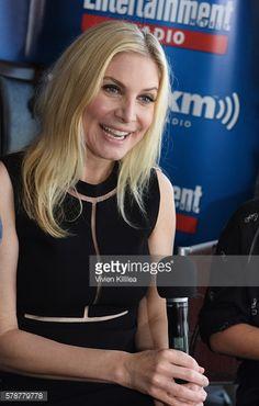 News Photo : Actress Elizabeth Mitchell attends SiriusXM's...