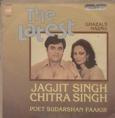 The Latest Ghazals Nazms Jagjit Singh Chitra Singh Poet Sudarshan Faakir Bollywood Vinyl LP Vinyl Records, Jagjit Singh, Song Hindi, Indian Music, Vinyl Music, Vinyls, Lps, Poet