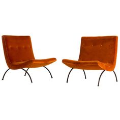 Scoop Chairs by Milo Baughman | From a unique collection of antique and modern chairs at http://www.1stdibs.com/furniture/seating/chairs/