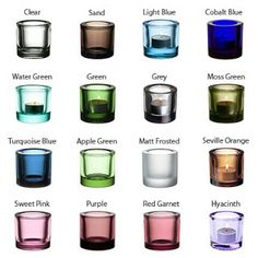kivi iittala - Google Search Green Turquoise, Cobalt Blue, Pink Purple, Marimekko, Red Garnet, Green And Grey, Shot Glass, Glass Art, Light Blue