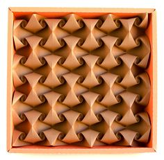 Curved #origami #tessellation