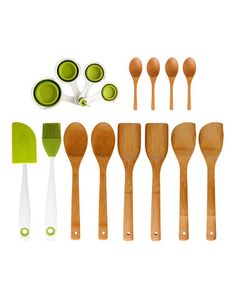 Take a look at this 16-Piece Kitchen Set by Dexas on #zulily today!