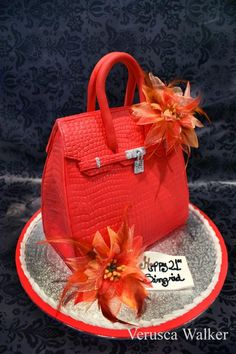 3D Bag Cake by Verusca!!!! This is a must have cake. :-) super cuteness. :-)