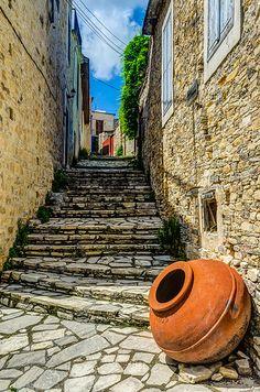 Lefkara, Cyprus | George Plakides | Flickr Beautiful Streets, Beautiful Places, Sri Lanka, Brunei, Cyprus Holiday, Visit Cyprus, Laos, Nepal, North Cyprus