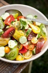 Cucumber and Heirloom Tomato Salad — Foster's Market