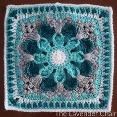 This is square # 6 of the Mandala Blanket CAL Add to your Favorites/Queue on Ravelry Materials: Lion Brands Vanna's Choice (Worsted Weight Yarn) I 5.50mm Crochet Hook Yarn Needle Difficulty: Experienced Gauge: 4Hdc = Approx 1 inch Size: 12″ x 12″ Stitches: CH: Chain- Yarn over pull through one loop. SS: Slip stitch- Insert …