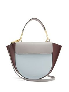 Hortensia mini leather cross-body bag   Wandler   MATCHESFASHION.COM US