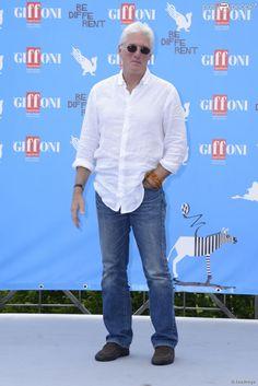 Richard Gere reçoit un Giffoni Award lors du Festival du Film de Giffoni, le 22 juillet 2014.