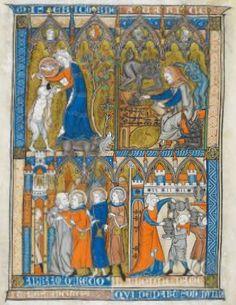 Somme le Roi, MS 28162, Fol 009v, ~1290-1300, France