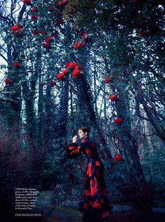 Audrey Marnay in Harper's Bazaar UK October 2015 by Erik Madigan Heck 12