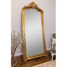 Gold Floor Mirror, Diy Mirror, Large Gold Mirror, Vintage Gold Mirror, French Mirror, Baroque Mirror, Antique Floor Mirror, Full Length Mirror Gold, Sunburst Mirror