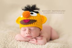 I have a knit pumpkin hat that would be so cute!
