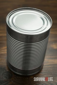 If you're in a situation and you happen to have a tin can with you, then you're in luck! That tin can might just be your ticket to survival. Survival Hacks, Survival Life, Camping Survival, Outdoor Survival, Ticket, Tin, Canning, Tableware, Dinnerware