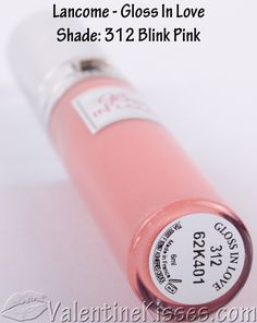 Valentine Kisses: Lancome Gloss In Love Lipgloss in Blink Pink ...