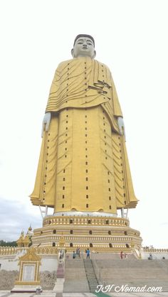 Bodhi Tataung, Monywa -    Second tallest Standing Buddha in the world!