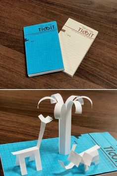 Tidbit Memo: comes with perforated lines which allows you to write down your information and tear it off in any patter or design of your choice Sticky Notes, Creative Ideas, Paper, Fun, Crafts, Design, Paper Envelopes, Diy Creative Ideas, Manualidades