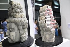 book carvings, wow!