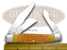 ca16065 CASE XX Persimmon Orange Jigged Bone Large Stockman Pocket Knife 16065