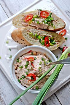 Smaki Alzacji : A na śniadanie...pasta z tuńczyka i ricotty- pycha!