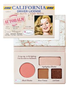 ซื้อ theBalm Autobalm Palette - California | Luxola Thailand