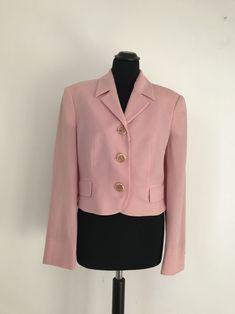 90s Versus by Gianni Versace vintage pink jacket di Toomuchmarion su Etsy