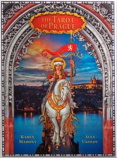 Tarot of Prague - 3rd  limited edition. (900 copies) +gift pure silk-satin exclusive scarf. Free Shipping