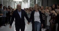 Los trabajadores de Inditex sorprenden a Amancio Ortega por su 80 cumpleaños