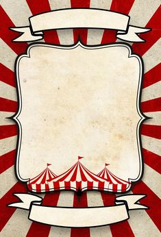 Circus Theme Party, Circus Wedding, Carnival Birthday Parties, Circus Birthday, Birthday Party Themes, Baby Birthday, Birthday Cards, Creepy Carnival, Carnival Themes