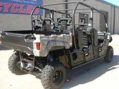 """New 2015 Yamaha Viking VI EPS ATVs For Sale in Texas. 2015 Yamaha Viking VI EPS, Features and technologies help the new Viking VI EPS raise the bar in capacity, comfort and convenience.(817)-695-1600 - This 6-occupant machine achieves driver and passenger comfort with a class leading 115.6"""" wheelbase that smooths the ride and allows for best-in-class interior space. The all-new Viking VI is ready to conquer whatever comes its way with a powerful 686cc, liquid-cooled, fuel injected, SOHC…"""