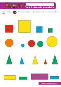 Activities For Kids, Archive, Autism, Geometry, Children Activities, Kid Activities, Petite Section, Kid Crafts