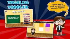 The Tagalog Toddler App Helps Kids Learn the Tagalog Language #toys trendhunter.com