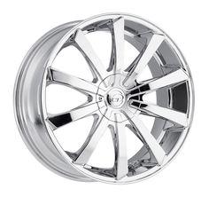 VCT Wheels V48 Chrome